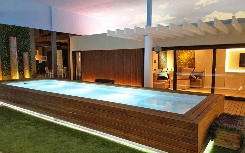 Construcció de piscines d'acer en àtics i terrasses